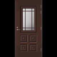 Pihla Palo-ovi PO 110 Tummanruskea RR32