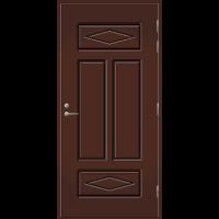 Pihla Palo-ovi PO 122 Tummanruskea RR32