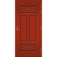 Pihla Palo-ovi PO 122 Tuvanpunainen NCS S 4050-Y90R