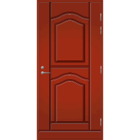 Pihla Palo-ovi PO 141 Tuvanpunainen NCS S 4050-Y90R