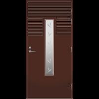Pihla Palo-ovi PO 160 Tummanruskea RR32