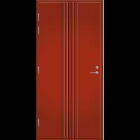 Pihla Palo-ovi PO 167 Tuvanpunainen NCS S 4050-Y90R
