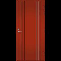 Pihla Palo-ovi PO 173 Tuvanpunainen NCS S 4050-Y90R