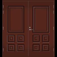 Pihla Pariulko-ovi UO 111 Tummanruskea RR32