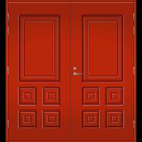 Pihla Pariulko-ovi UO 111 Tuvanpunainen NCS S 4050-Y90R