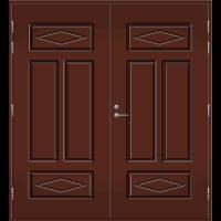 Pihla Pariulko-ovi UO 122 Tummanruskea RR32