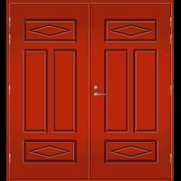 Pihla Pariulko-ovi UO 122 Tuvanpunainen NCS S 4050-Y90R