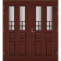 Pihla Pariulko-ovi UO 125 Tummanruskea RR32