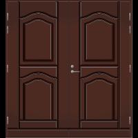 Pihla Pariulko-ovi UO 141 Tummanruskea RR32