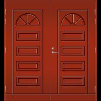 Pihla Pariulko-ovi UO 151 Tuvanpunainen NCS S 4050-Y90R