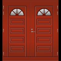 Pihla Pariulko-ovi UO 153 Tuvanpunainen NCS S 4050-Y90R