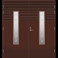 Pihla Pariulko-ovi UO 160 Tummanruskea RR32