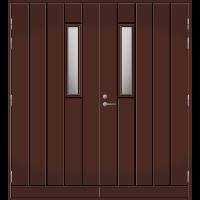 Pihla Pariulko-ovi UO 162 Tummanruskea RR32