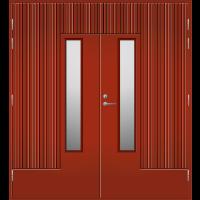 Pihla Pariulko-ovi UO 163 Tuvanpunainen NCS S 4050-Y90R