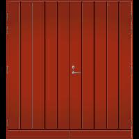Pihla Pariulko-ovi UO 164 Tuvanpunainen NCS S 4050-Y90R