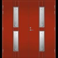 Pihla Pariulko-ovi UO 165 Tuvanpunainen NCS S 4050-Y90R