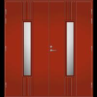Pihla Pariulko-ovi UO 166 Tuvanpunainen NCS S 4050-Y90R