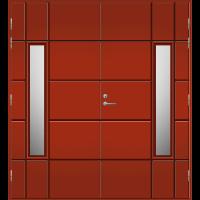 Pihla Pariulko-ovi UO 169 Tuvanpunainen NCS S 4050-Y90R