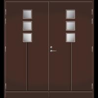 Pihla Pariulko-ovi UO 170 Tummanruskea RR32
