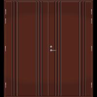 Pihla Pariulko-ovi UO 173 Tummanruskea RR32