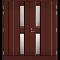 Pihla Pariulko-ovi UO 192 Tummanruskea RR32
