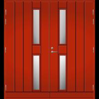 Pihla Pariulko-ovi UO 192 Tuvanpunainen NCS S 4050-Y90R