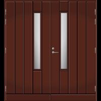 Pihla Pariulko-ovi UO 192X Tummanruskea RR32