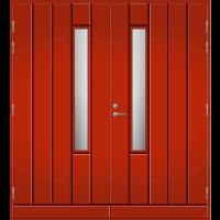 Pihla Pariulko-ovi UO 192X Tuvanpunainen NCS S 4050-Y90R