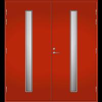 Pihla Pariulko-ovi UO 202 Tuvanpunainen NCS S 4050-Y90R