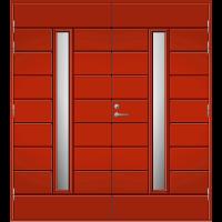 Pihla Pariulko-ovi UO 202X Tuvanpunainen NCS S 4050-Y90R