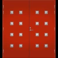 Pihla Pariulko-ovi UO 206 Tuvanpunainen NCS S 4050-Y90R