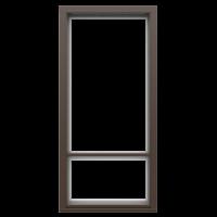 Ranskalaisen parvekkeen ovi Tummanruskea RR32