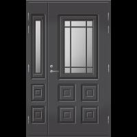Pihla Ulko-ovi UO 110 lasilevikkeellä Tummanharmaa RR23