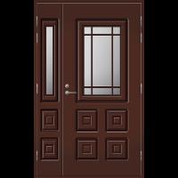 Pihla Ulko-ovi UO 110 lasilevikkeellä Tummanruskea RR32