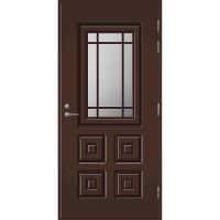 Pihla Ulko-ovi UO 110 Tummanruskea RR32