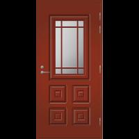 Pihla Ulko-ovi UO 110 Tuvanpunainen NCS S 4050-Y90R