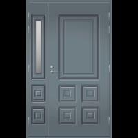 Pihla Ulko-ovi UO 111 lasilevikkeellä Harmaa RR22