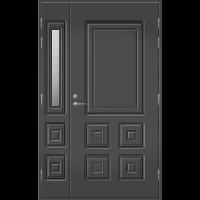 Pihla Ulko-ovi UO 111 lasilevikkeellä Tummanharmaa RR23