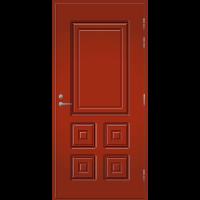 Pihla Ulko-ovi UO 111 Tuvanpunainen NCS S 4050-Y90R