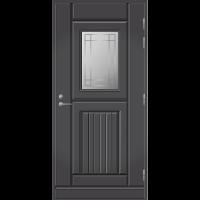 Ulko-ovi UO 118 Tummanharmaa RR23