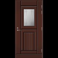 Ulko-ovi UO 118 Tummanruskea RR32