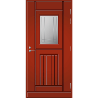 Ulko-ovi UO 118 Tuvanpunainen NCS S 4050-Y90R