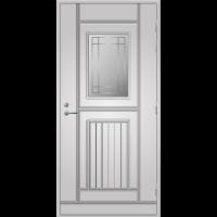 Ulko-ovi UO 118 Valkoinen NCS S 0502-Y