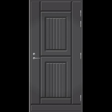 Ulko-ovi UO 119 Tummanharmaa RR23