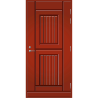 Ulko-ovi UO 119 Tuvanpunainen NCS S 4050-Y90R