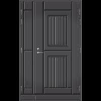 Pihla Ulko-ovi UO119 umpilevikkeellä Tummanharmaa RR23