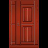 Pihla Ulko-ovi UO119 umpilevikkeellä Tuvanpunainen NCS S 4050-Y90R