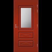 Pihla Ulko-ovi UO 120 Tuvanpunainen NCS S 4050-Y90R