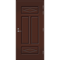 Pihla Ulko-ovi UO 122 Tuvanpunainen NCS S 4050-Y90R
