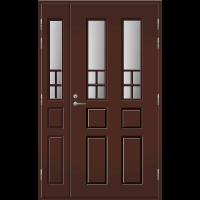 Pihla Ulko-ovi UO 125 lasilevikkeellä Tummanruskea RR32